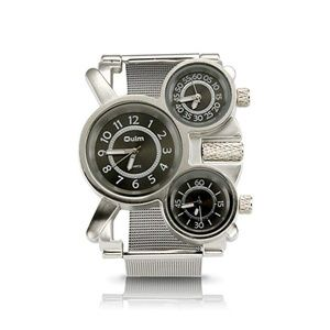 Men's Military Quartz Analog Wrist Watch Stainless